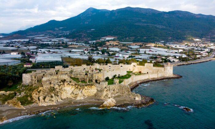 skele, Mamure Castle, Anamur/Mersin, Turkey