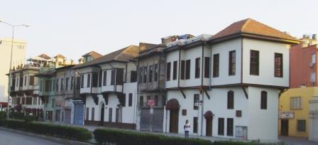 Tepebağ'daki sıra evler
