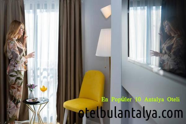 En Popüler 10 Antalya Oteli